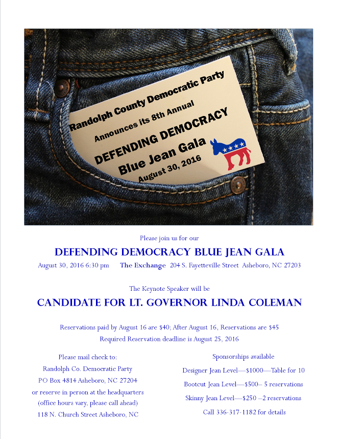 email invitation blue jean